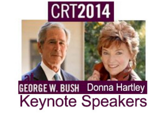 Keynote Speakers Donna & George W. Bush