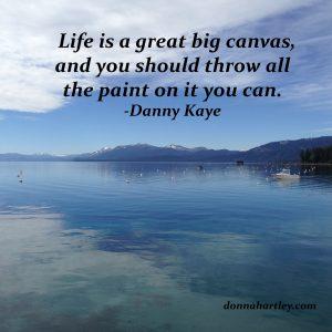 canvas and Danny Kaye